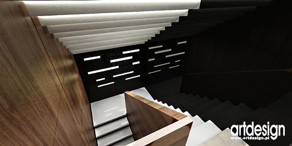 projektowanie wnętrz klatki schodowej