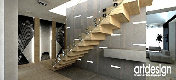 projekt wnetrz domu-schody