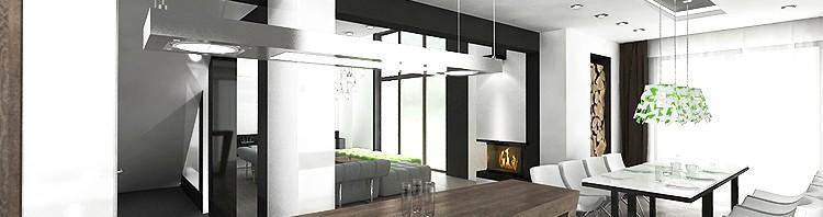 projekty nowoczesnego wnętrza domu