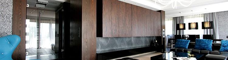 salon nowoczesne projekty wnętrz