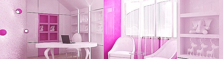 wnętrze pokoju dla dziecka - luksusowe projekty wnętrz