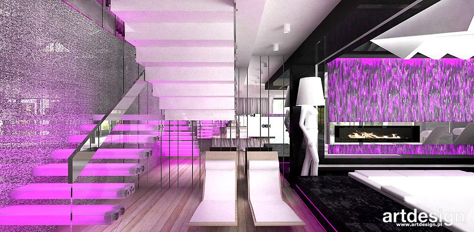 wnętrza design domowe spa