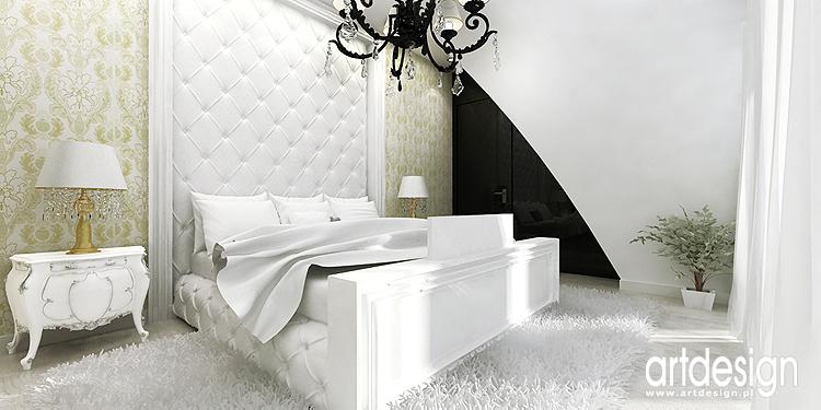 aranżacja wnętrza domu - sypialnia
