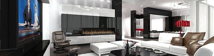luksusowe wnętrze rezydencji - salon