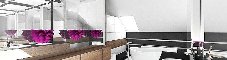 projekt łazienka nowoczesna