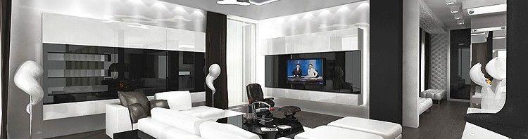 luksusowe wnętrze salonu- aranżacja