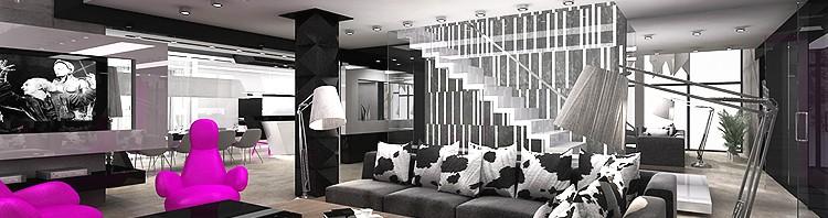 luksusowe wnętrze salonu