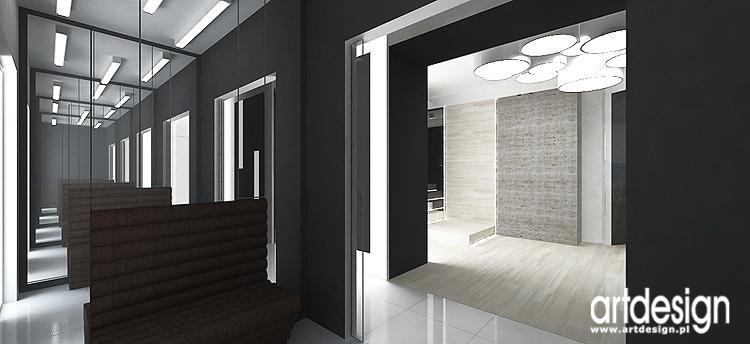 projektowanie wnętrza domu - hol i wiatrołap