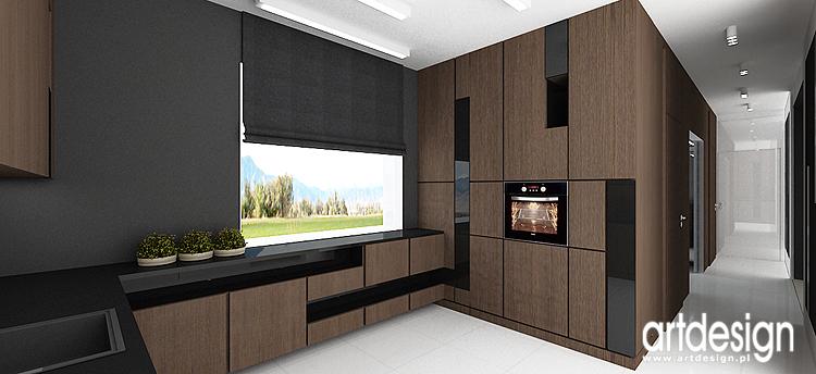 projekt wnętrza luksusowej kuchni