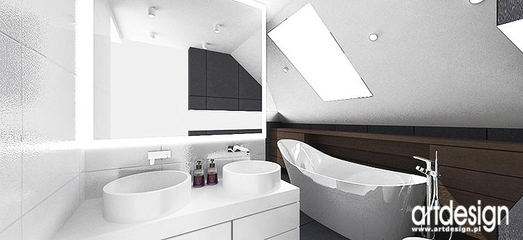 wnętrza nowoczesnych łazienek