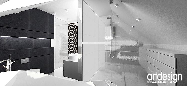 projekty wnętrz luksusowych łazienel