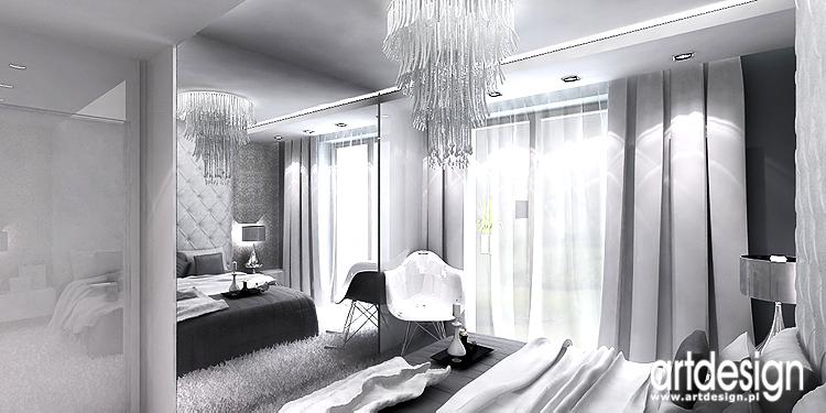 białe wnętrza luksusowego apartamentu
