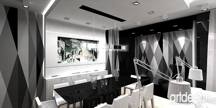 projektowanie wnętrza mieszkania - jadalnia