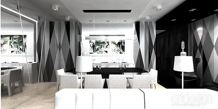 designerskie wnętrze apartamentu