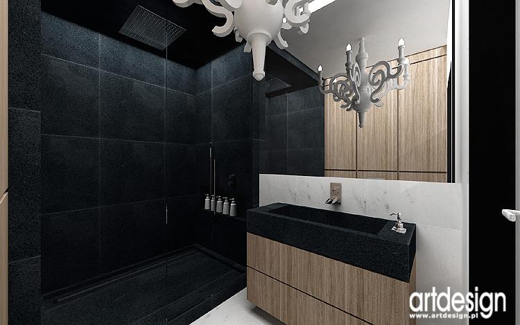 eleganckie wnętrze łazienki