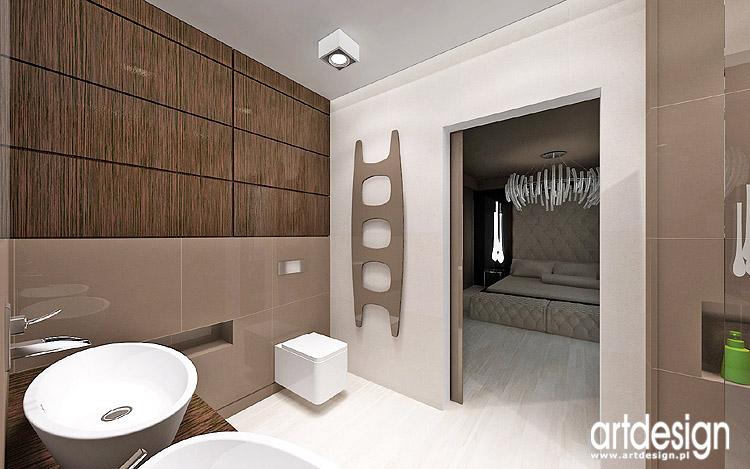 wnętrze luksusowej łazienki przy sypialni