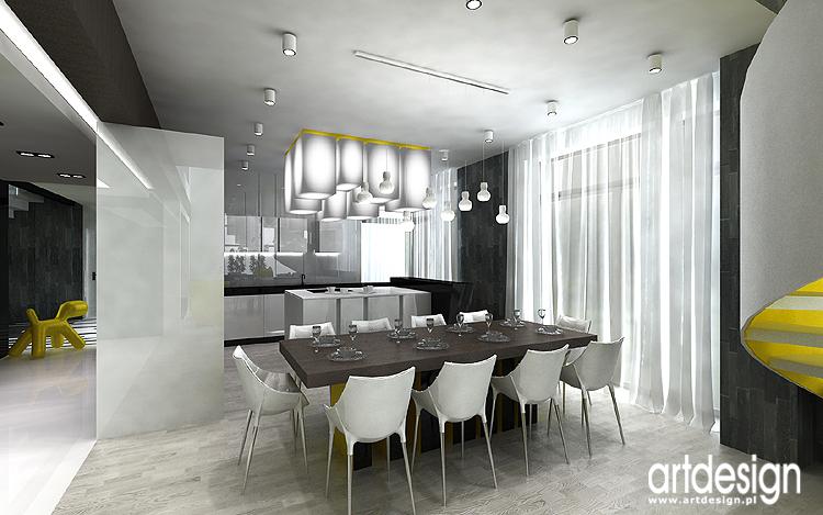 Luksusowe oryginalne wnętrza domów projekty aranżacje  Projektowanie wnętrz