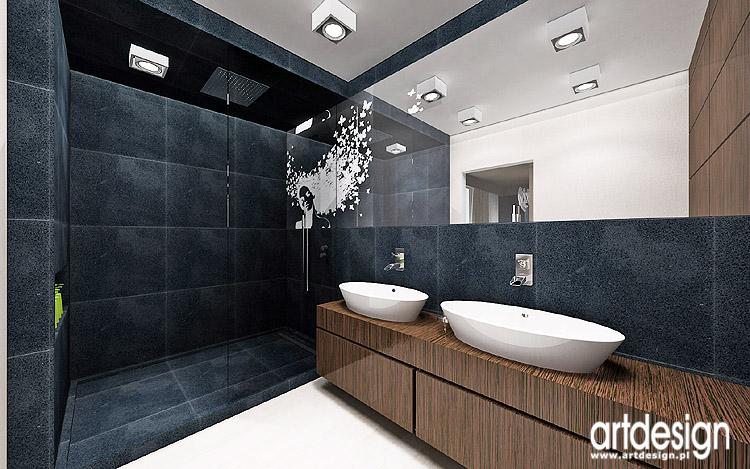 luksusowy projekt wnętrza łazienki