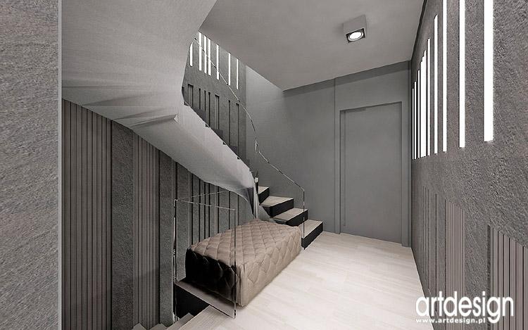 aranżacja wnętrza nowoczesnego domu wroc�aw projekt design