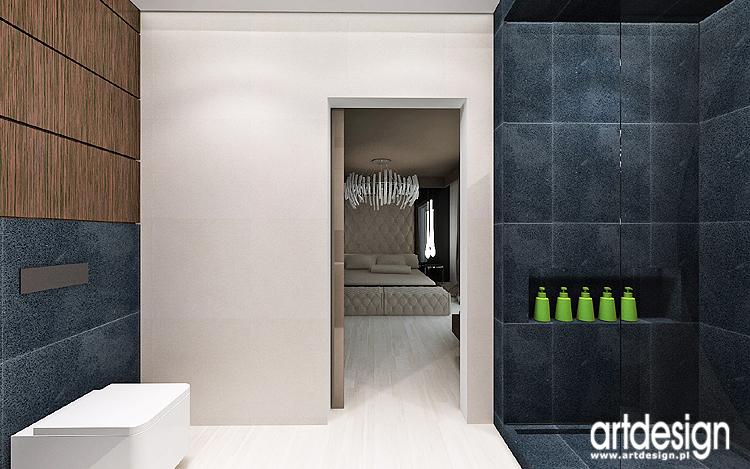 luksusowe wnętrze łazienki przy sypialni