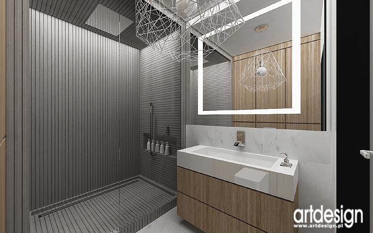 nowoczesna aranżacja łazienki