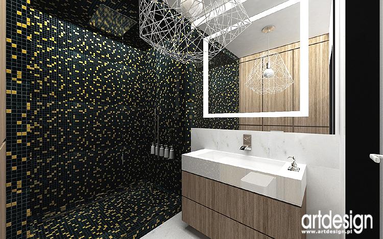 designerskie wnętrza łazienki
