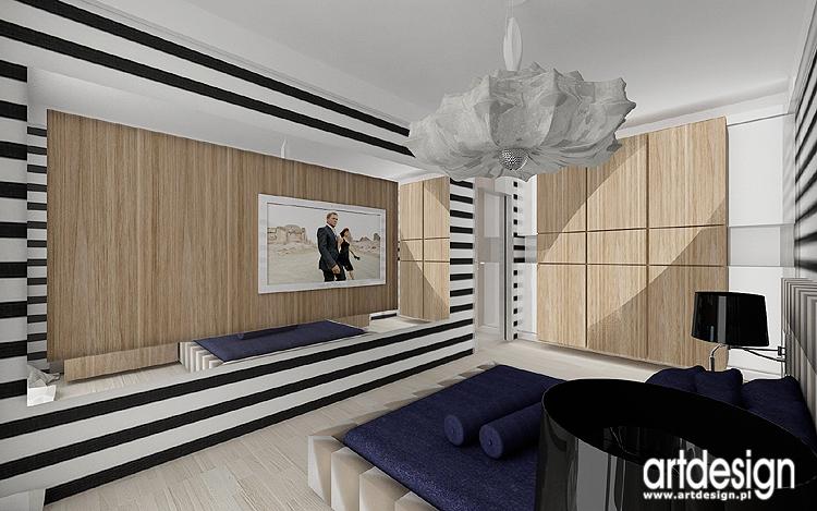 nowoczesne wnętrza sypialni