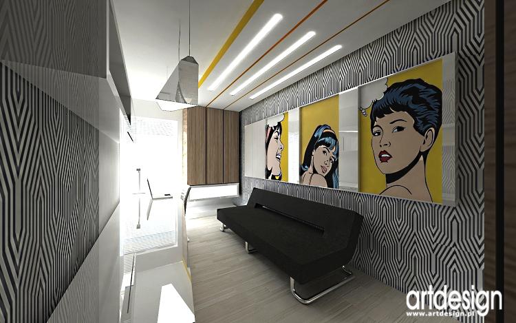 pokój gościnny - nowoczesne projekty wnętrza