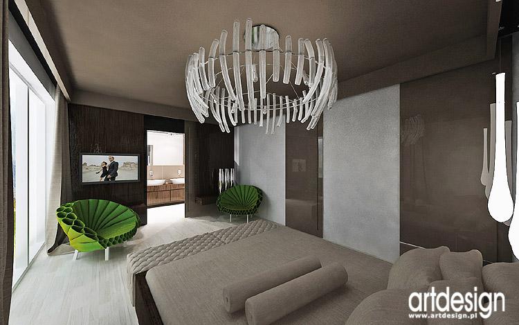 luksusowe wnętrza sypialni