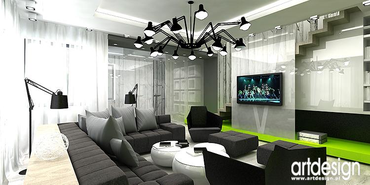 projekt wnętrza apartamentu domu bielsko bia�a architekci