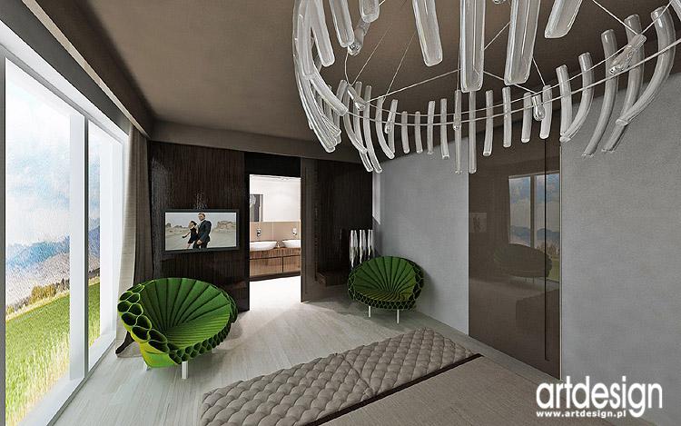 designerskie wnętrza sypialni