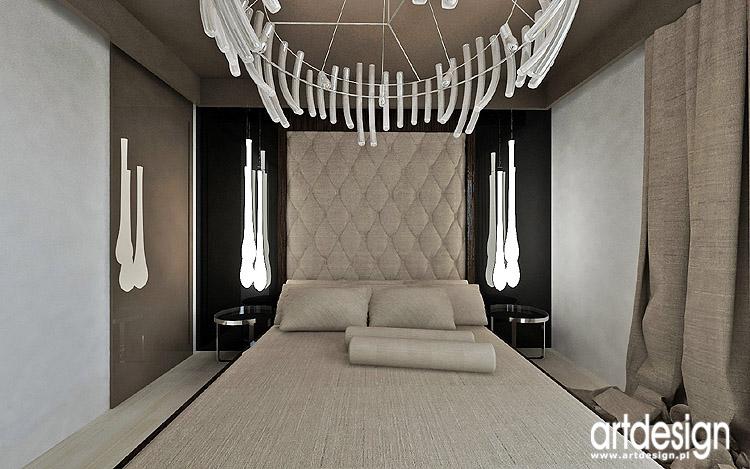 luksusowe wnętrze sypialni