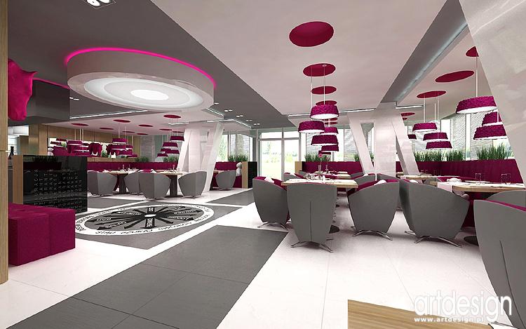 projektowanie wnętrza nowoczesnego hotelu