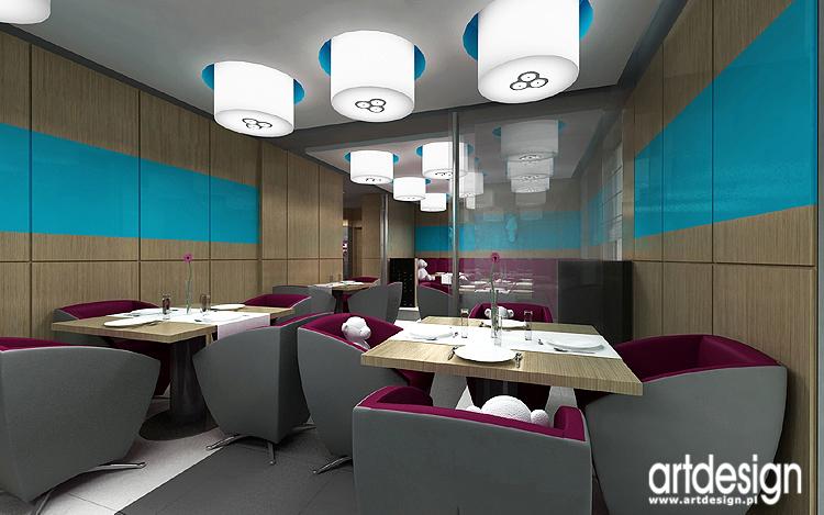 designerskie aranżacje wnętrz restauracji