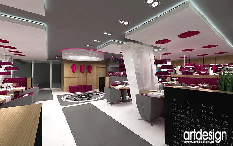 luksusowe wnętrze restauracji