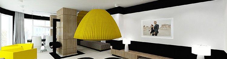 wnętrze luksusowego apartamentu - projekt