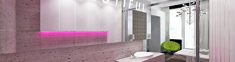 projektowanie wnętrza luksusowej łazienki