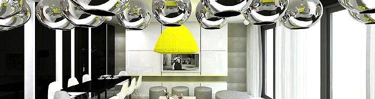 wnętrze luksusowego apartamentu - salon