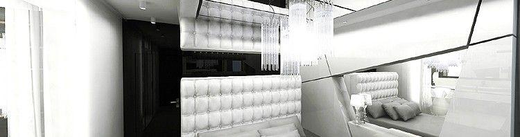 wnętrze luksusowej sypialni projekty aranżacje architektura