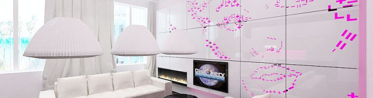 luksusowe wnętrze apartamentu - salon
