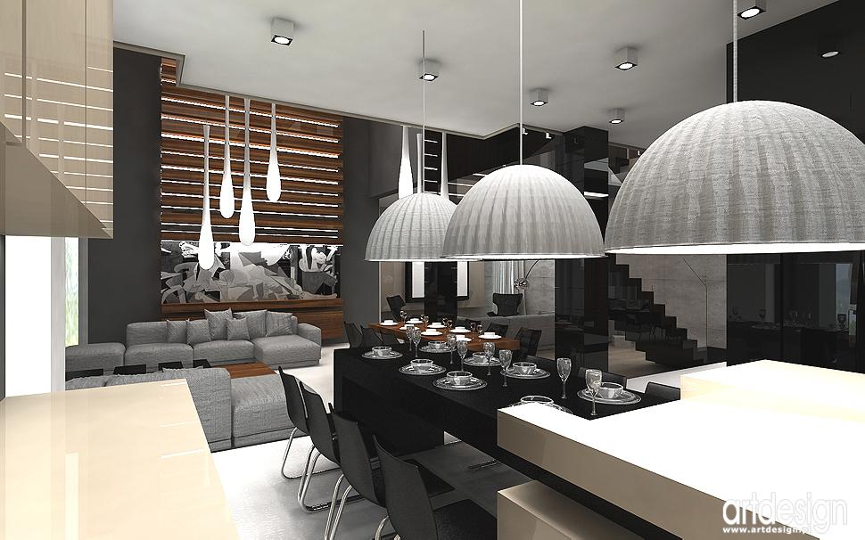 projekty wnętrz domów - design wnętrz