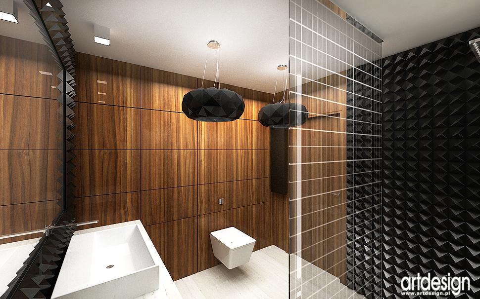 ponadczasowe wnętrze łazienki - projekt wnętrza