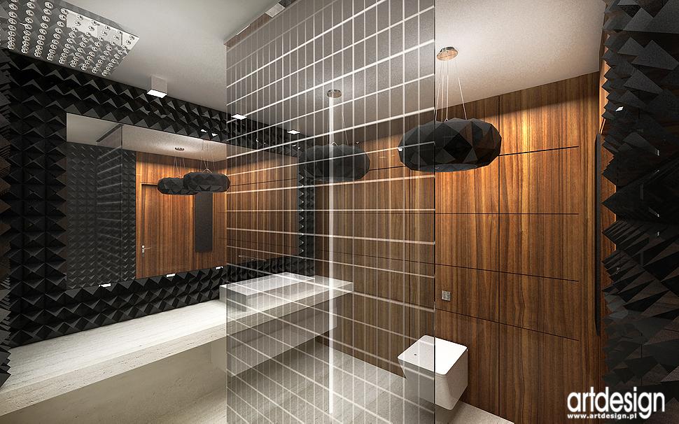 architekt wnętrza domu - łazienka