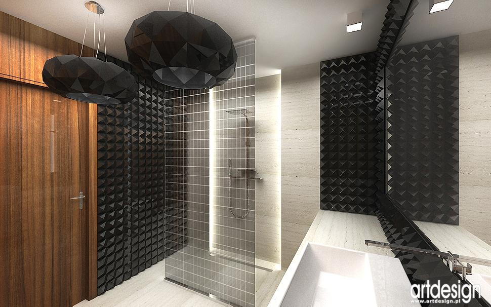 nowoczesna aranżacja wnętrza łazienki