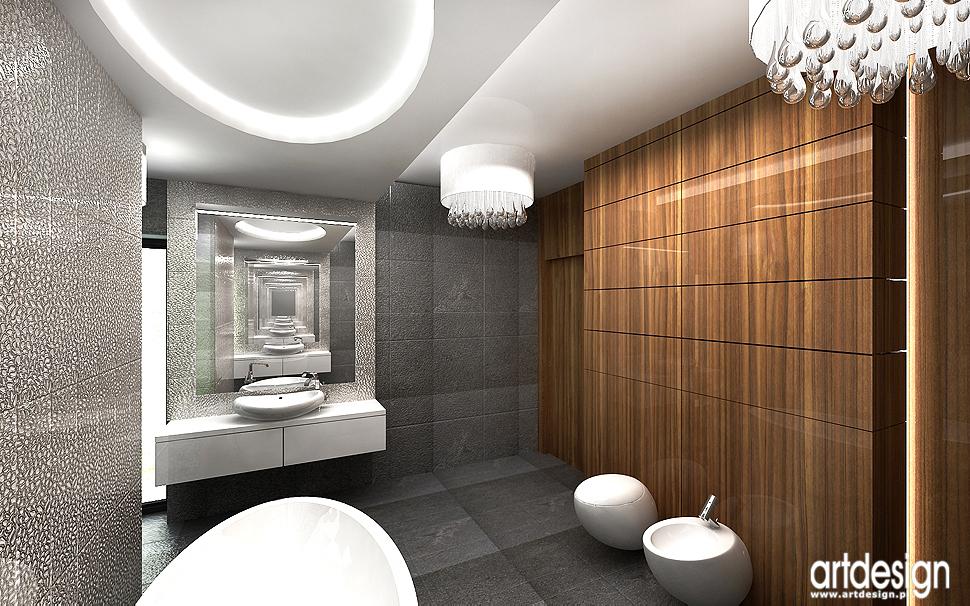 projektowanie wnętrza eleganckiej łazienki