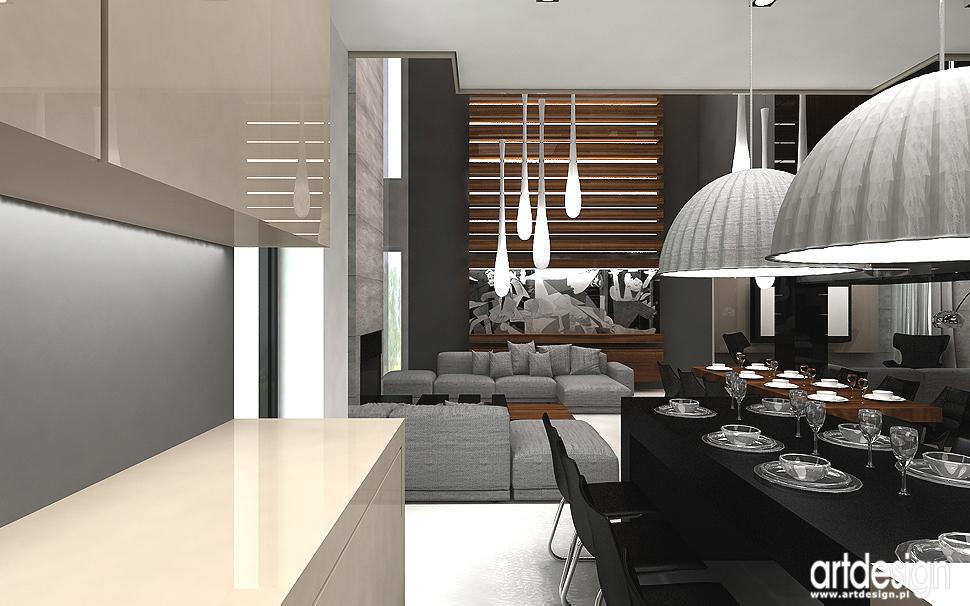 projekt wnętrza kuchni, jadalni