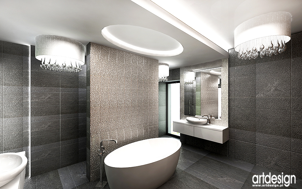projektowanie wnęrz łazienek, domowych spa