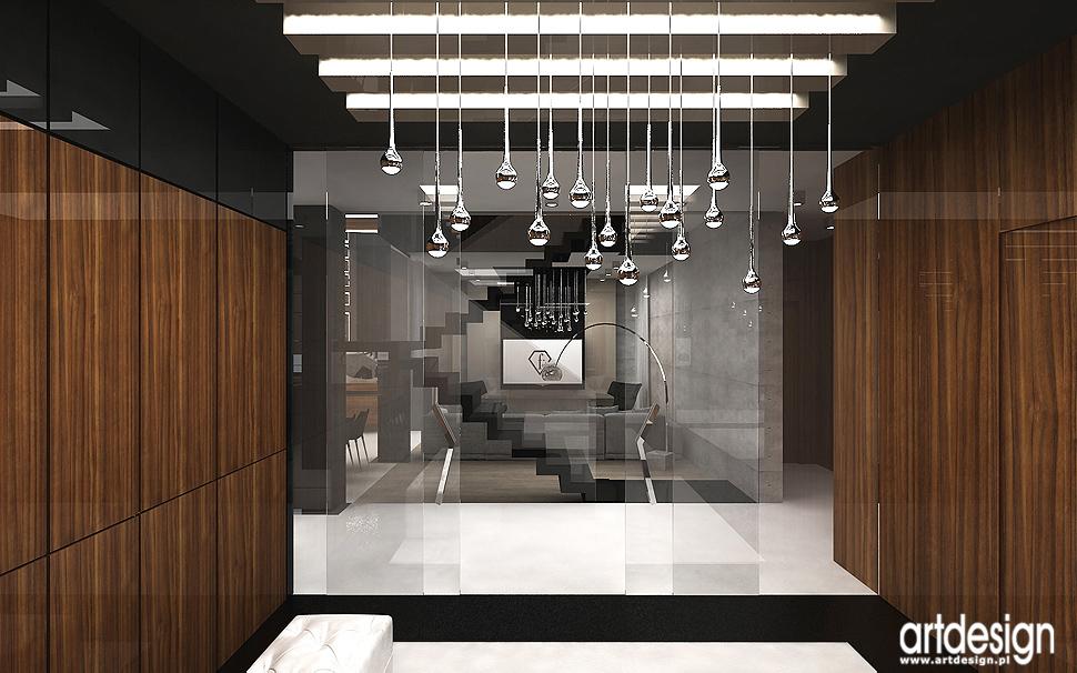 projektowanie wnętrza nowoczesnego domu
