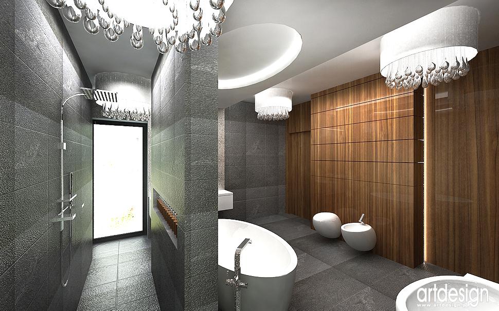 architekt wnętrza domu - luksusowa łazienka