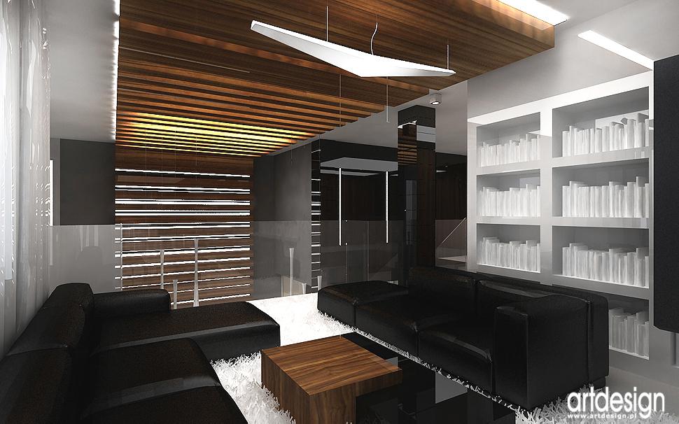 nowoczesna architektura wnętrza domu